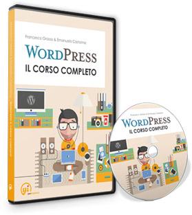 Copertina Corso WordPress
