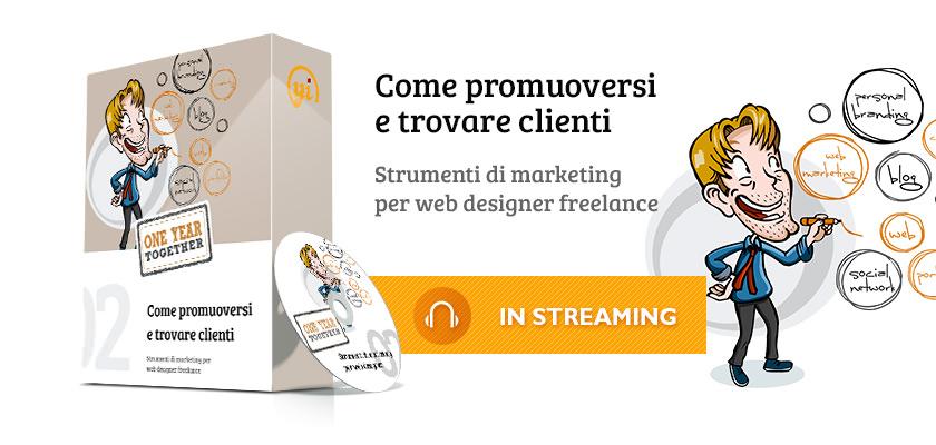 promuoversi e trovare clienti
