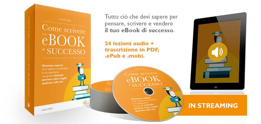 come scrivere il tuo ebook di successo